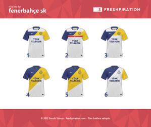 Nike kit for Fenerbahce SK by SMHYLMZ
