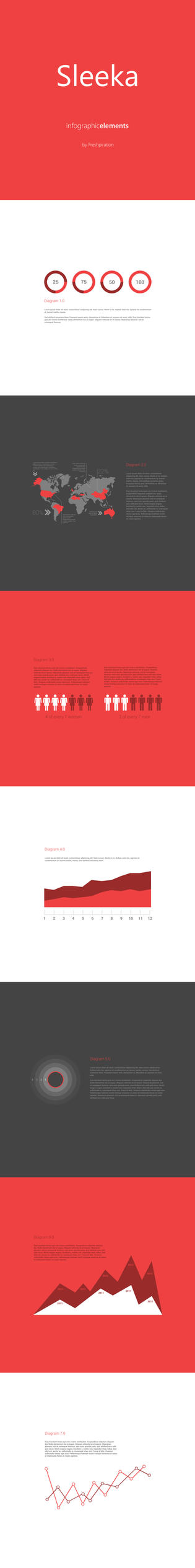 Sleeka - Infographic Elements by SMHYLMZ