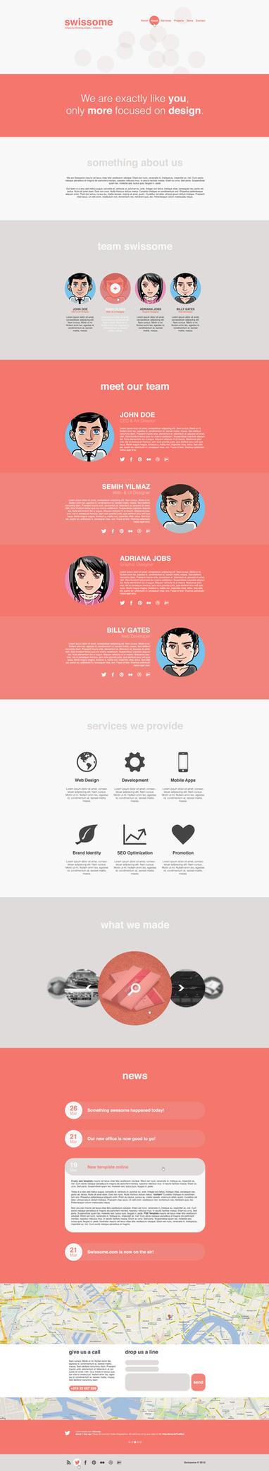 Swissome Web Design by SMHYLMZ