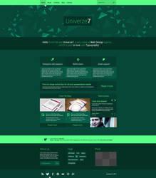 Univerze7 Meto Inspired Web Design by SMHYLMZ