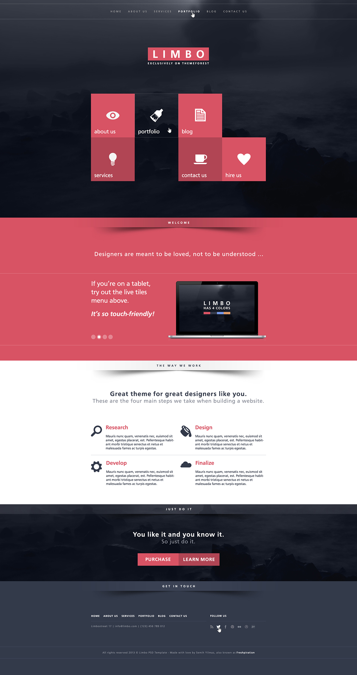 Limbo Web Design by SMHYLMZ