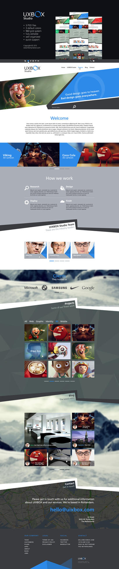 UIXBOX Web Design by SMHYLMZ