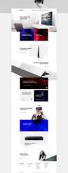 Sony Website Redesign Concept by SMHYLMZ