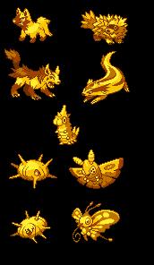More golden Pokemon by Decoy-Mantis on DeviantArt