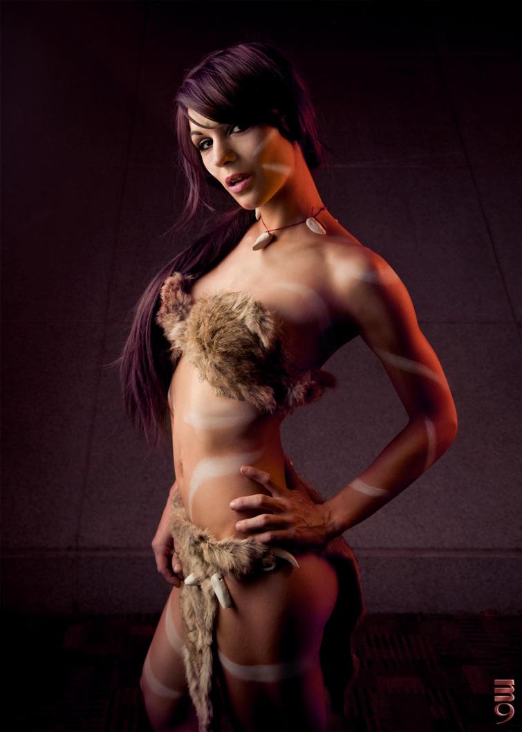 Artemis Otakon_2014_nidalee_cosplay_by_shanasaurusrexx-d8j8axh