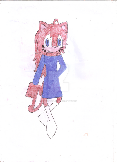 Danu the Cat by Thunder-the-Mouse