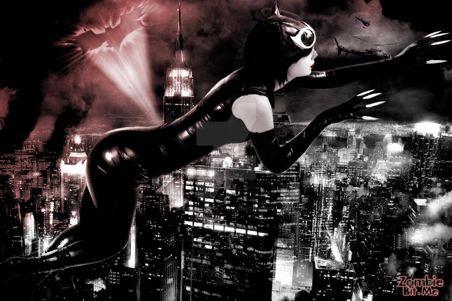 Catwoman escapes by ZOMBIEBITME