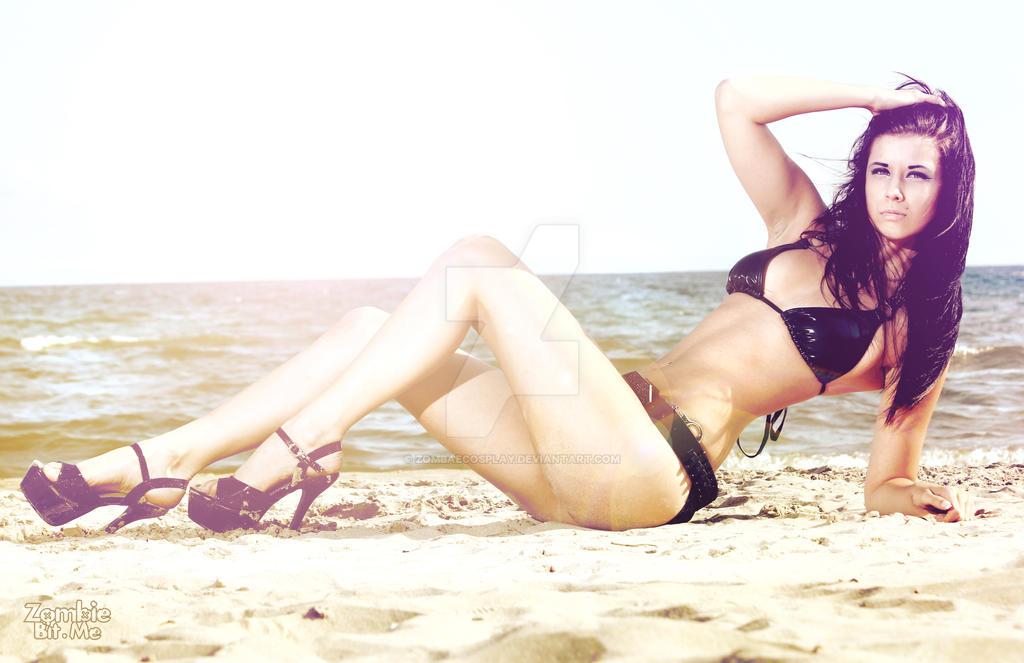 beach shoot 4 by ZOMBIEBITME
