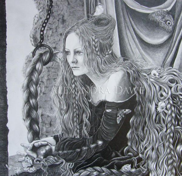 Rapunzel by alexandradawe