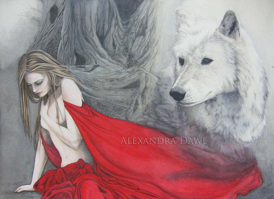 Red Riding Hood by alexandradawe