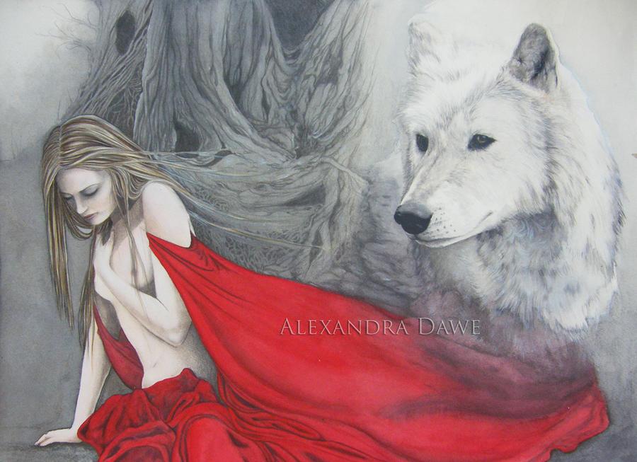 Red Riding Hood by alexandradawe