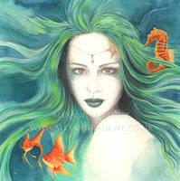Mermaid by alexandradawe