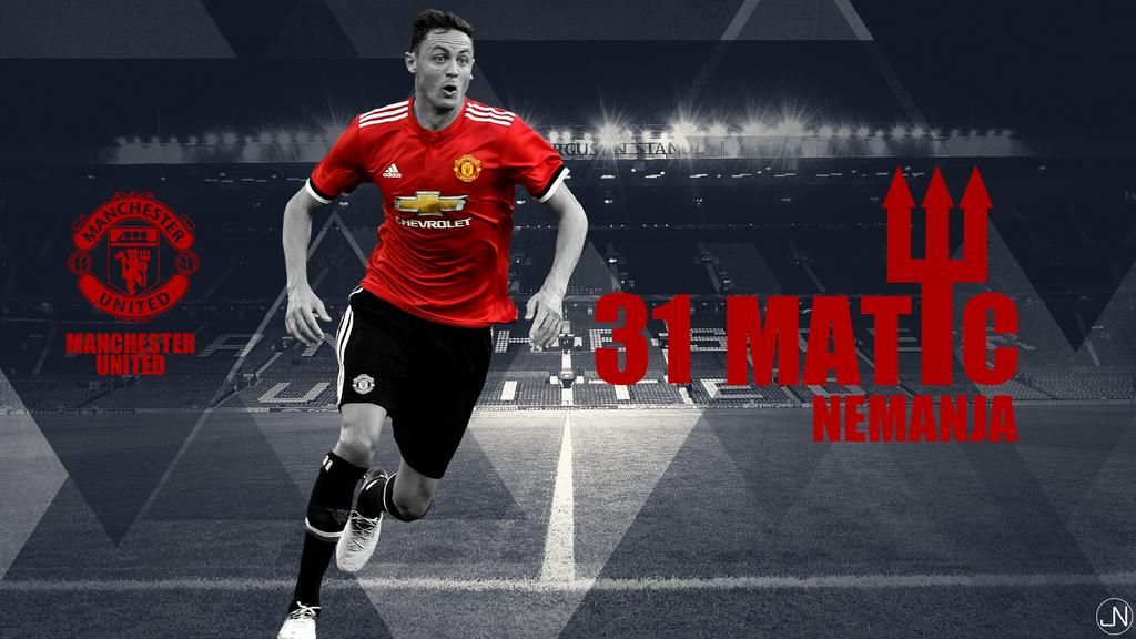 Nemanja Matic Manchester United Wallpaper By Rkruspe On