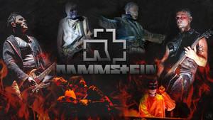 Rammstein Fire Wallpaper