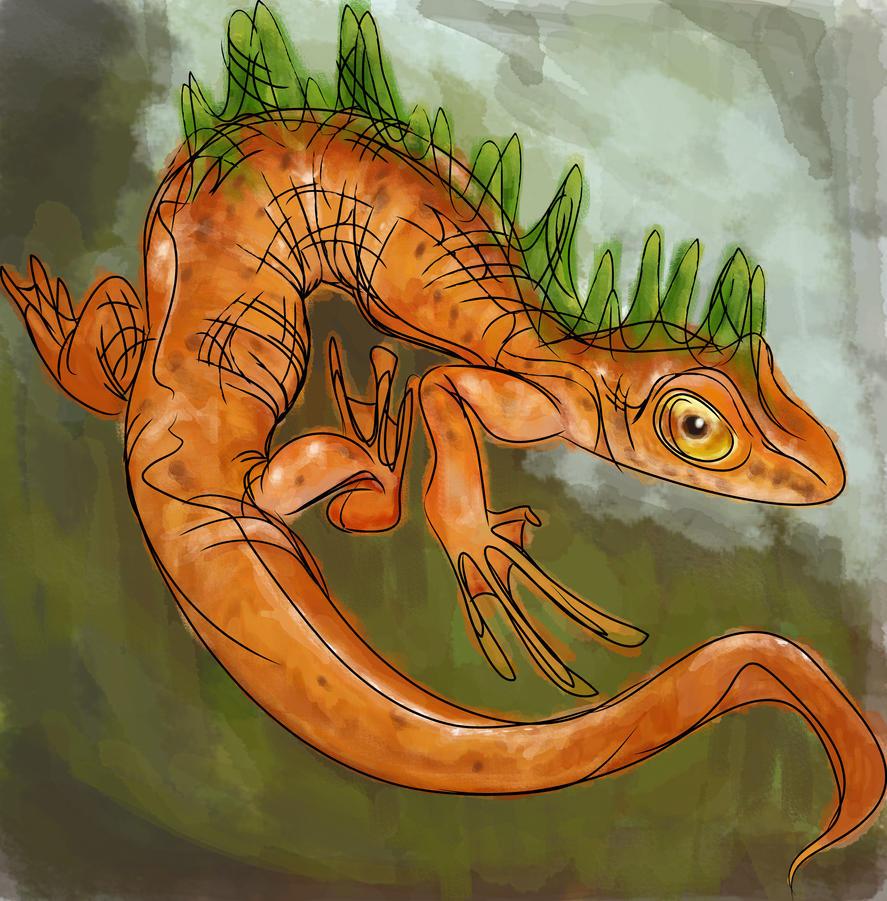 Salamander by NosebleedBoy