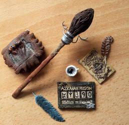 Harry Potter Prisoner of Azkaban mini pendant set by EerieStir