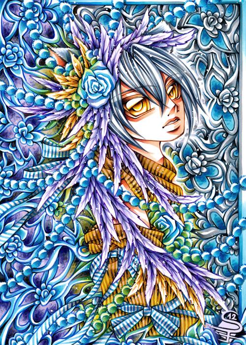 Vivid Flower by DarkSena