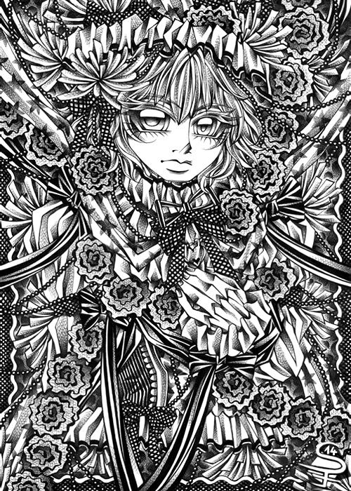 Floral Princess by DarkSena