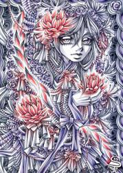Soft Lotus by DarkSena