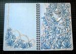 Flowery Notepad