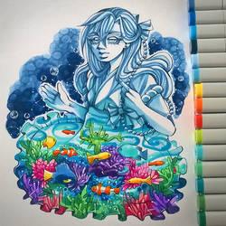 Aquarium by DarkSena