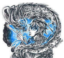 Inktober19: Dragon