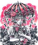 Inktober20: Candy Rain