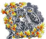 Inktober20: Eagle Owl