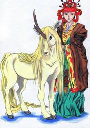 El Kirin y la Reina by Die-Rache