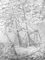 Lotn | WIP | The Boat Scene by Marckette