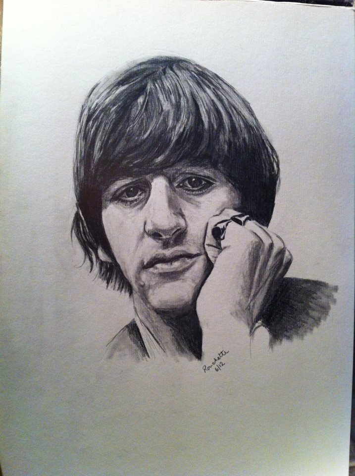 Ringo Starr by SallyRonchetti