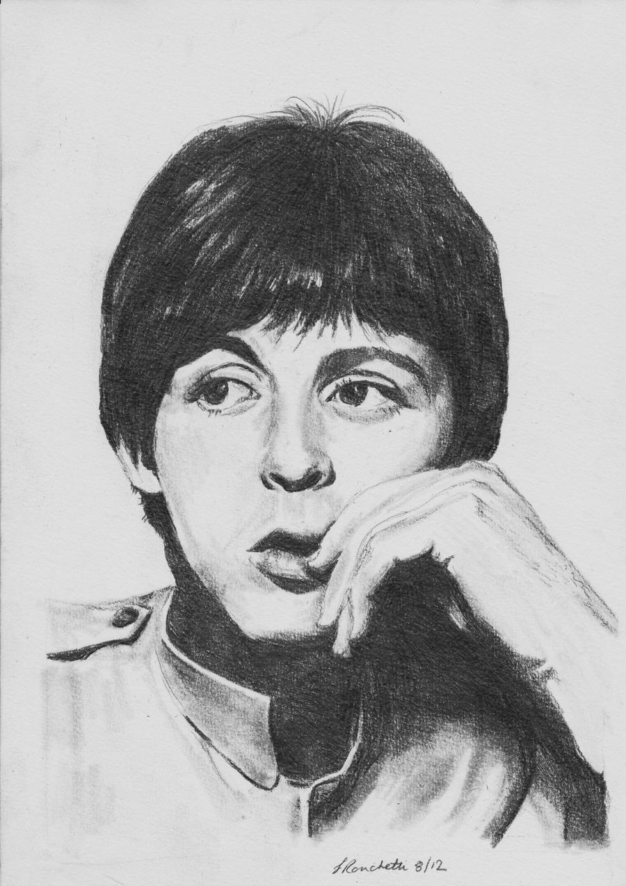 paul mccartney by sallyronchetti on deviantart. Black Bedroom Furniture Sets. Home Design Ideas