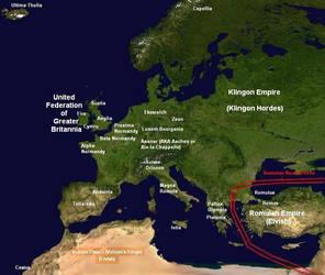 Sky Trek - Map of Europa