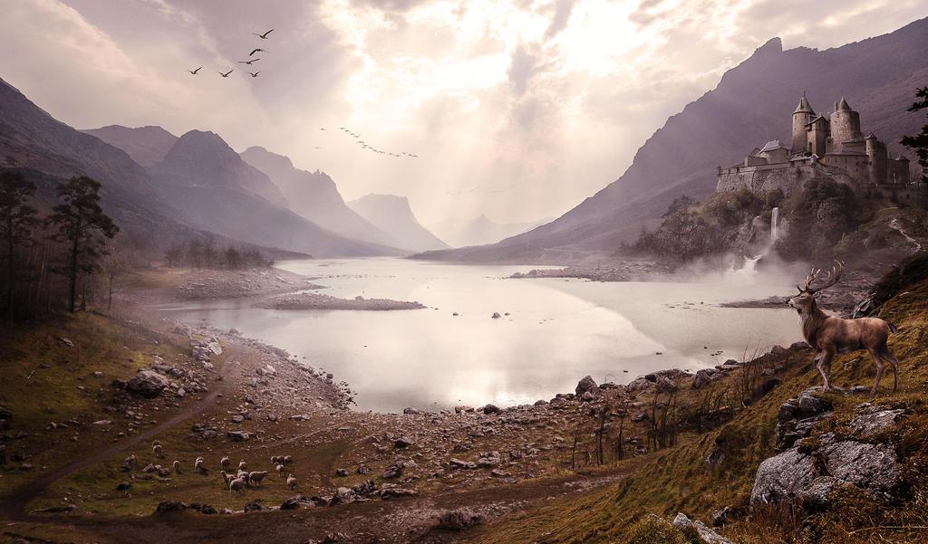 Lake by aproman11