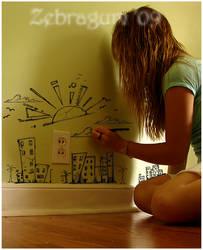 Wall doodles