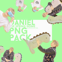 KANG DANIEL THE SPRING HOME PNG PACK by meirintee