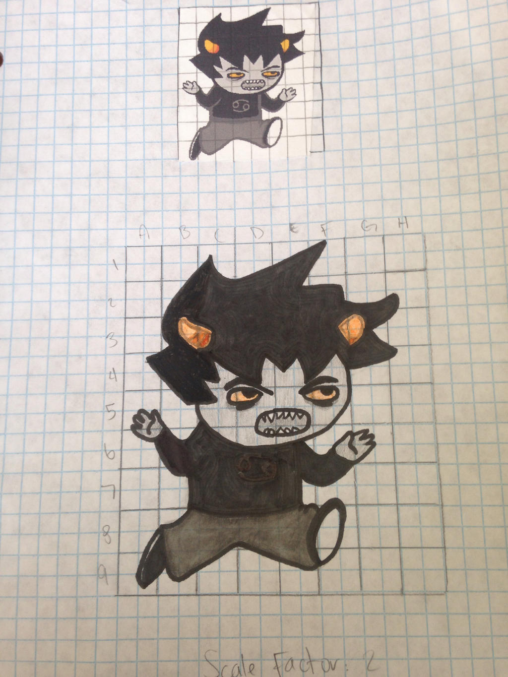 DILATION PROJECT FOR MY MATH CLASS by velvetkitteh on DeviantArt