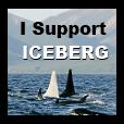 Iceberg STAMP by SheilaMBrinson