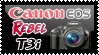 Canon EOS Rebel T3i stamp by SheilaMBrinson