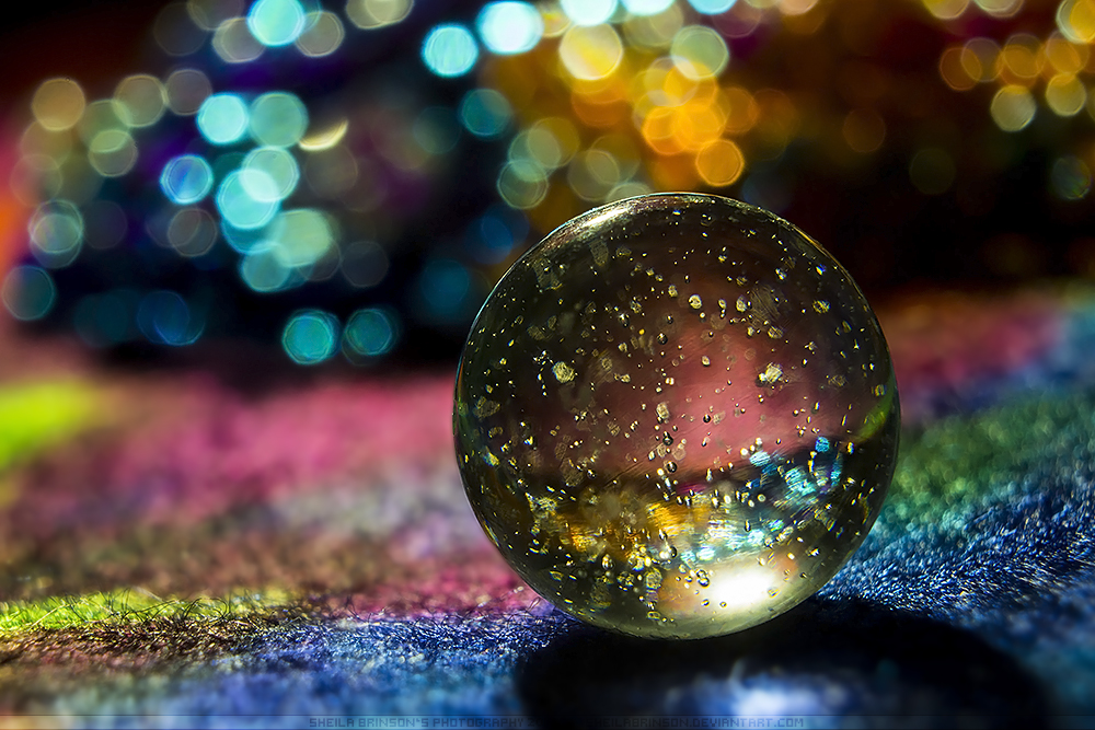 Colorful Little Universe by SheilaBrinson