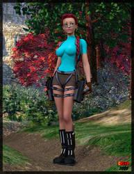 Lara Croft by sodacan