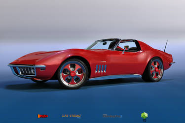 69 Chevy Corvette C3 by sodacan