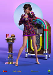 Devon and The Soda Fountain 2 - The 60s by sodacan