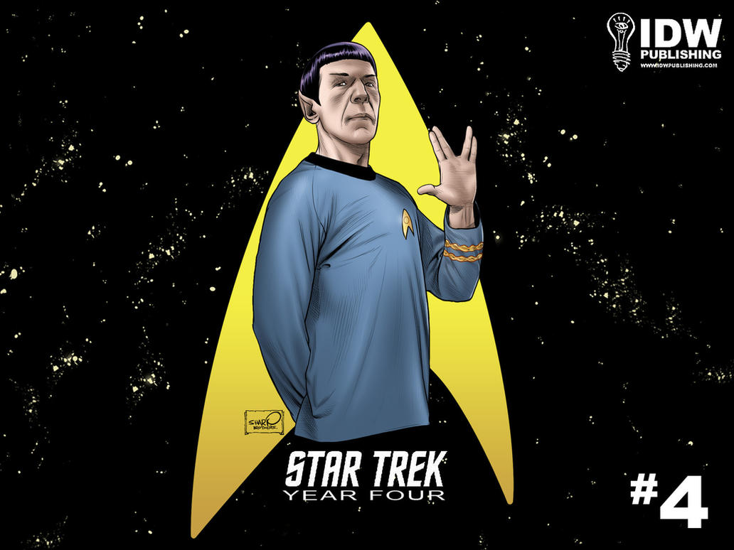 Star Trek: Spock Desktop by sharpbrothers