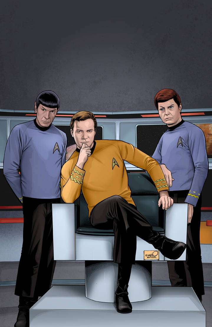 Star Trek Archive - Kirk by sharpbrothers on DeviantArt