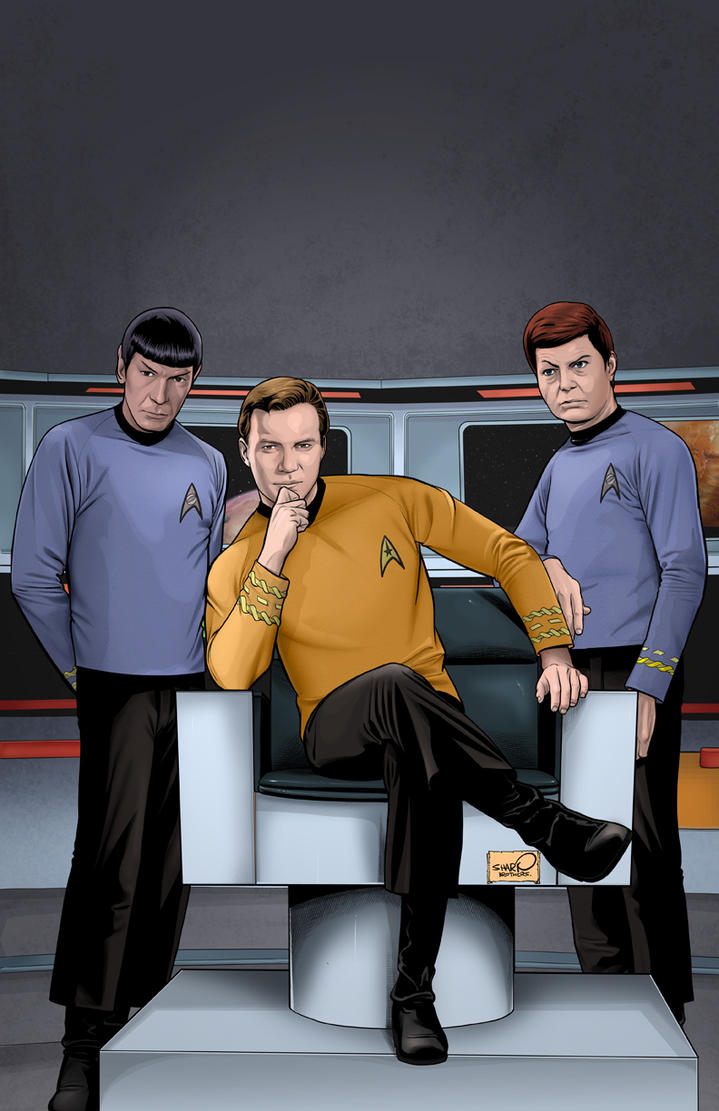 RIP Leonard Nimoy A.K.A Spock from TOS Star_Trek_Archive___Kirk_by_sharpbrothers