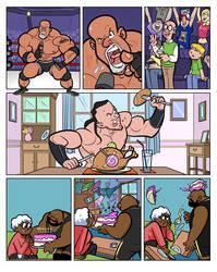 WWEkids Mini-Strips 122 RAW