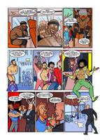 WWE Mini-strips for WWE Kids Magazine #142