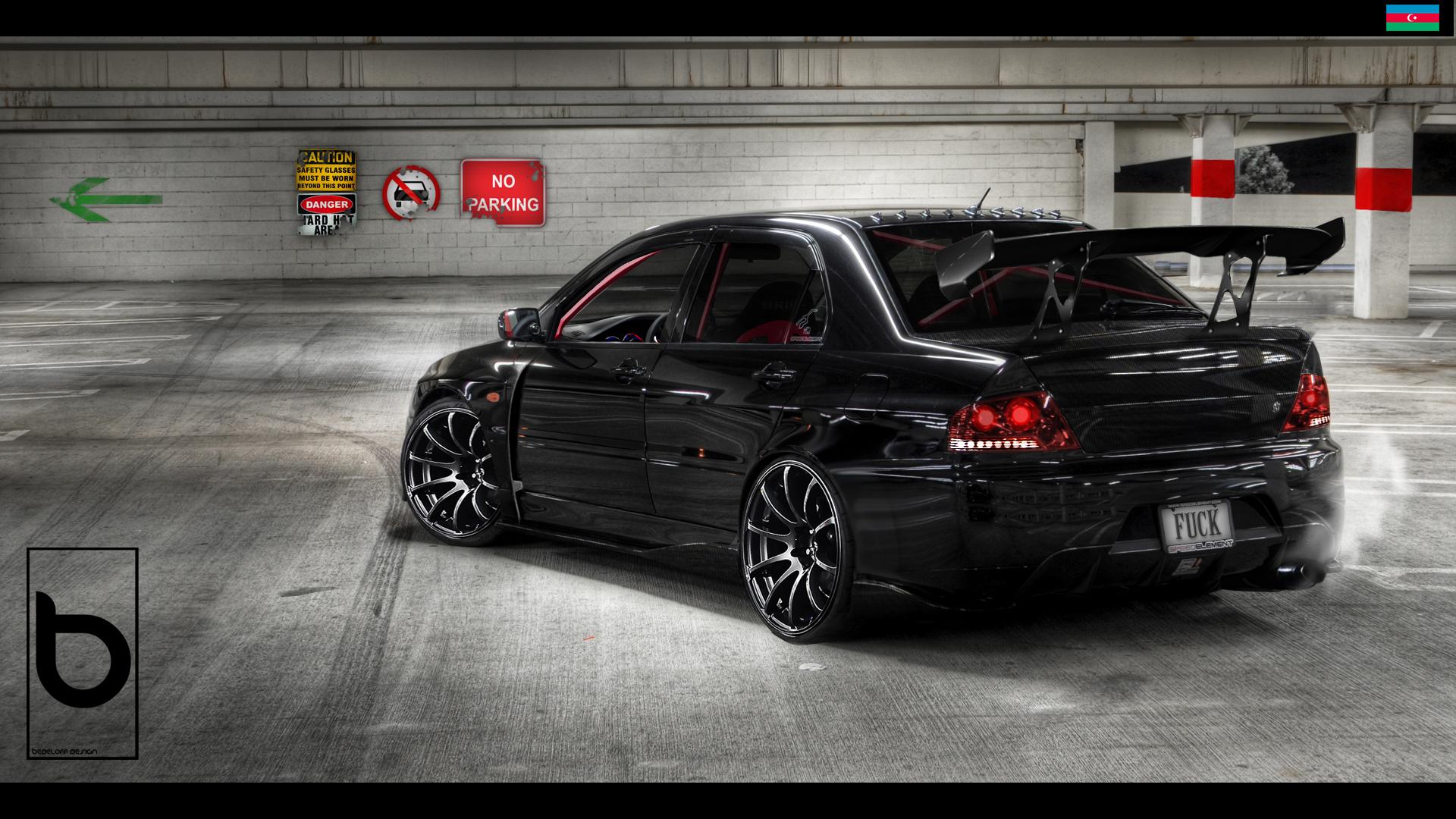 Mitsubishi_Lancer by Bedeloff