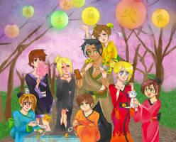 xiaolin festival by faycoon